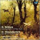 Britten: Qtet in D Op.25 / Shostakovich: Quintet