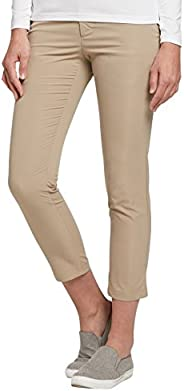 Solbari UPF 50+ Women's Sun Protection Cropped Trousers Dry Stretch Collection - UV Protection, Sun Protec