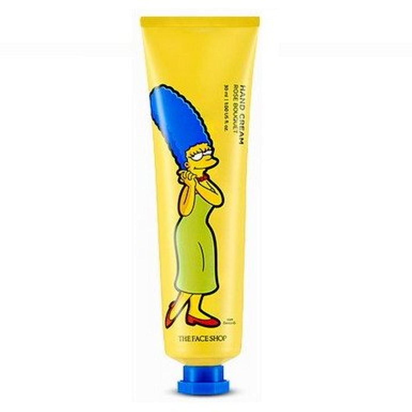 トーンやむを得ないシャーロックホームズ【The Face Shop (ザ?フェイスショップ)】 The Simpsons ザ?シンプソンズ ハンドクリーム 30ml (5種類選択1) (マージ (ローズブーケ)) [並行輸入品]