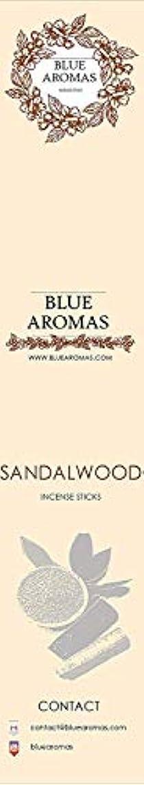 急降下左火山のBlue Aromas Sandalwood Incense Sticks Agarbatti |Pack of 8, 10 Sticks in Each Pack Incense | Export Quality