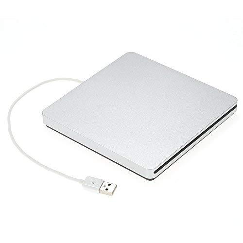 KKmoon USB 2.0 外付けポータブルCD スロット...