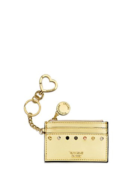(ヴィクトリアシークレット )Victoria's Secret Rock Envy Cityレディース コイン カード ケース ポーチ 財布 小銭入れ カード ケース Coin purse Card Case in Gold...