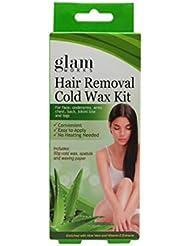 脱毛用 コールド ワックス キット アロエ & Vit. E 50g / Hair Removal Cold Wax Kit Aloe & Vit. E 50g