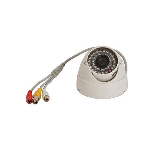 防犯カメラ 監視カメラ 屋内型 36個LED CCD赤外線搭載 暗視可能 広角レンズ3.6mm搭載