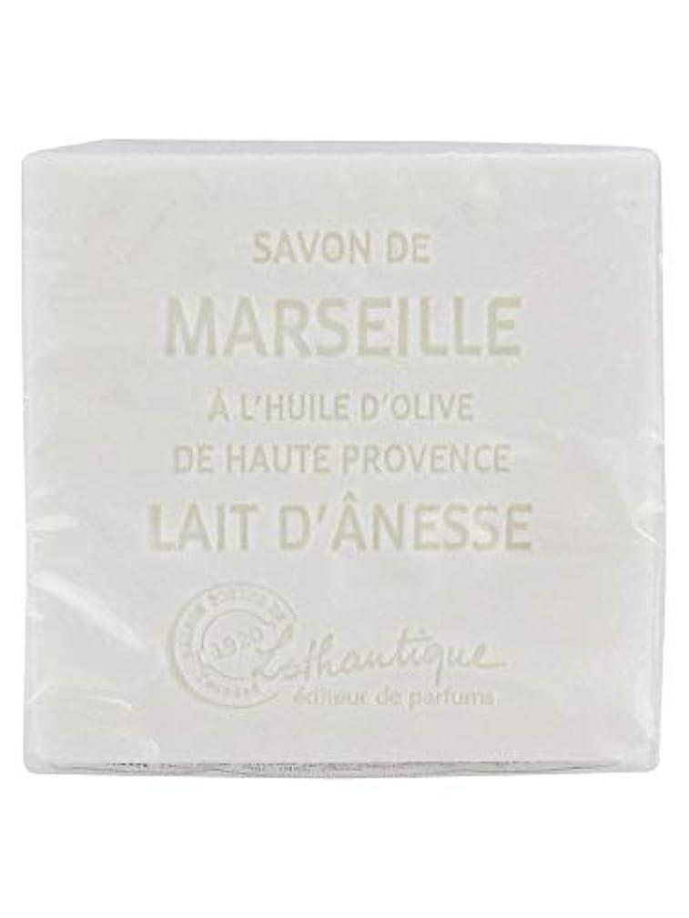 勝利した無意味ブレイズLothantique(ロタンティック) Les savons de Marseille(マルセイユソープ) マルセイユソープ 100g 「ミルク(ロバミルク)」 3420070038043