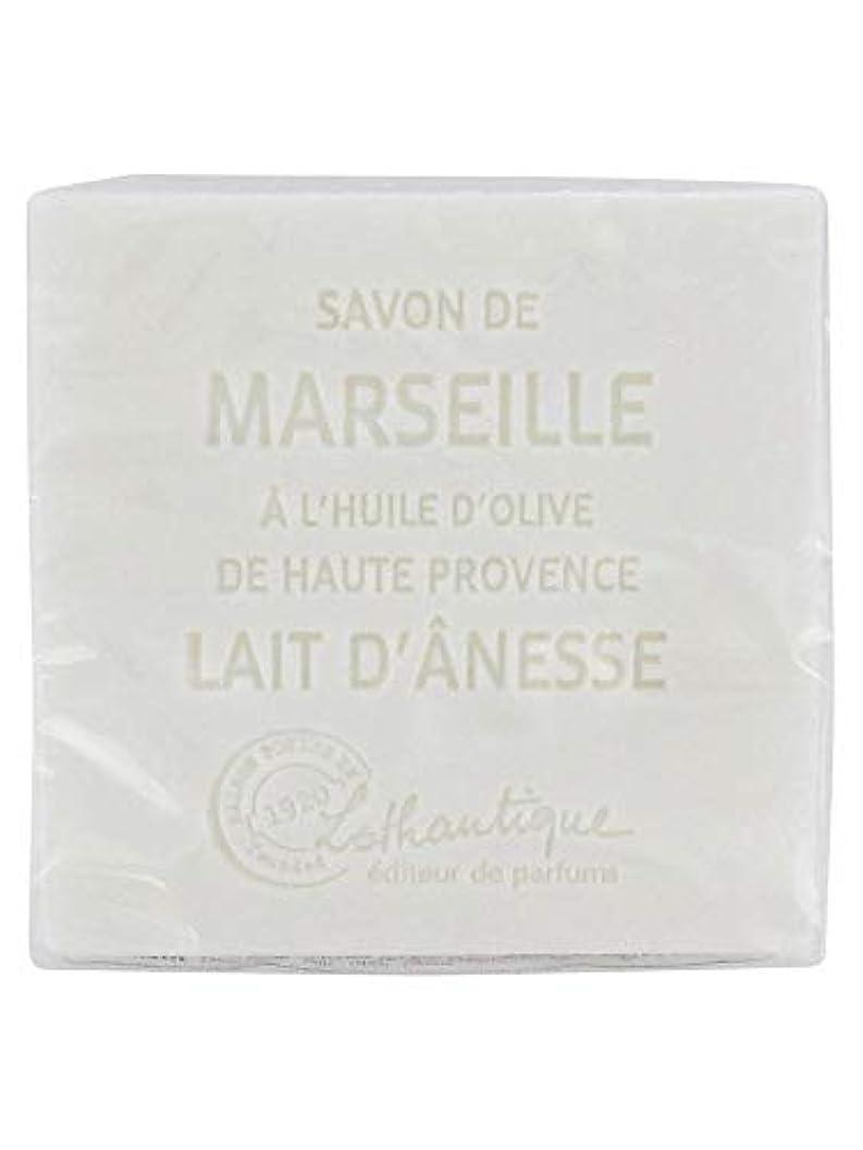 クレーター計り知れない乏しいLothantique(ロタンティック) Les savons de Marseille(マルセイユソープ) マルセイユソープ 100g 「ミルク(ロバミルク)」 3420070038043