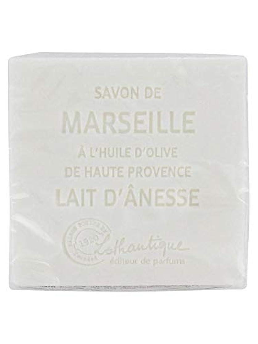 納得させる酔っ払い艦隊Lothantique(ロタンティック) Les savons de Marseille(マルセイユソープ) マルセイユソープ 100g 「ミルク(ロバミルク)」 3420070038043