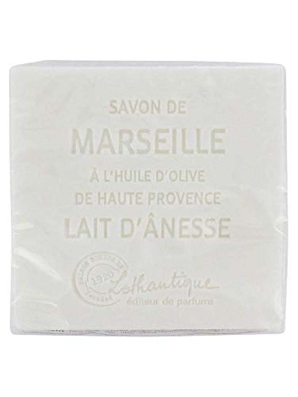 パントリー安全な茎Lothantique(ロタンティック) Les savons de Marseille(マルセイユソープ) マルセイユソープ 100g 「ミルク(ロバミルク)」 3420070038043