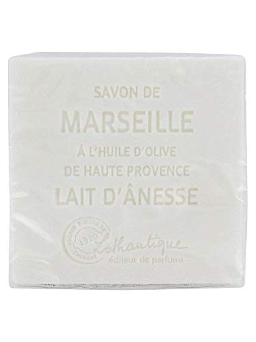 引き付ける歪める電子レンジLothantique(ロタンティック) Les savons de Marseille(マルセイユソープ) マルセイユソープ 100g 「ミルク(ロバミルク)」 3420070038043