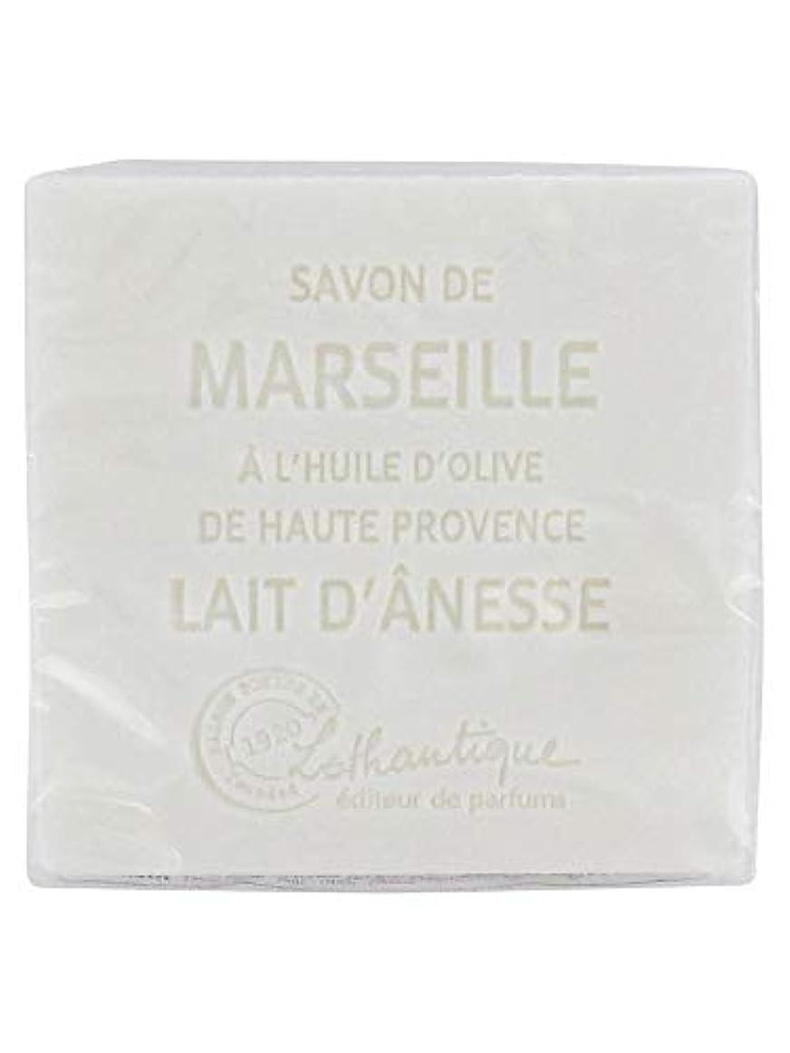 生きる不注意シャットLothantique(ロタンティック) Les savons de Marseille(マルセイユソープ) マルセイユソープ 100g 「ミルク(ロバミルク)」 3420070038043