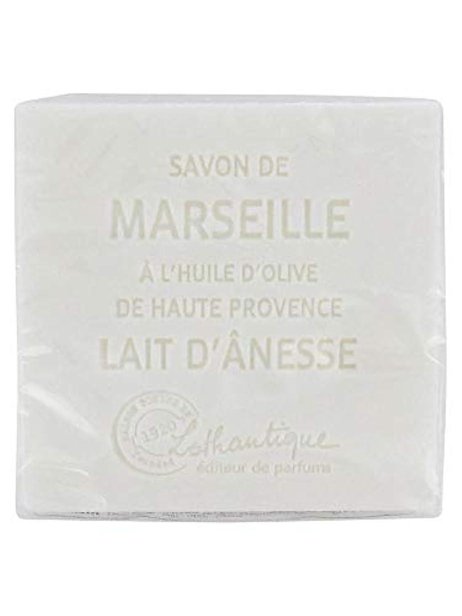 噛む調整する海里Lothantique(ロタンティック) Les savons de Marseille(マルセイユソープ) マルセイユソープ 100g 「ミルク(ロバミルク)」 3420070038043