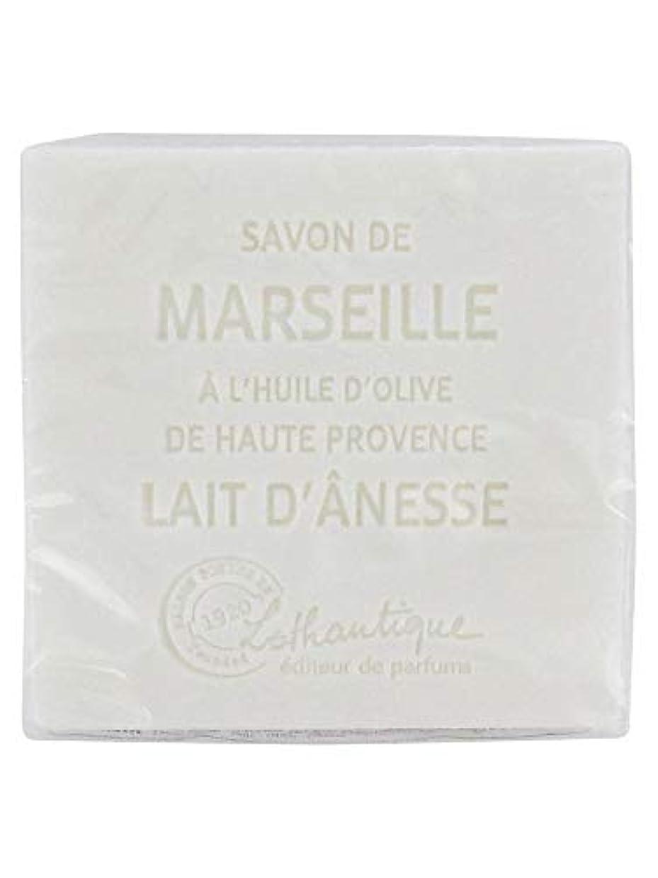 写真美人上流のLothantique(ロタンティック) Les savons de Marseille(マルセイユソープ) マルセイユソープ 100g 「ミルク(ロバミルク)」 3420070038043