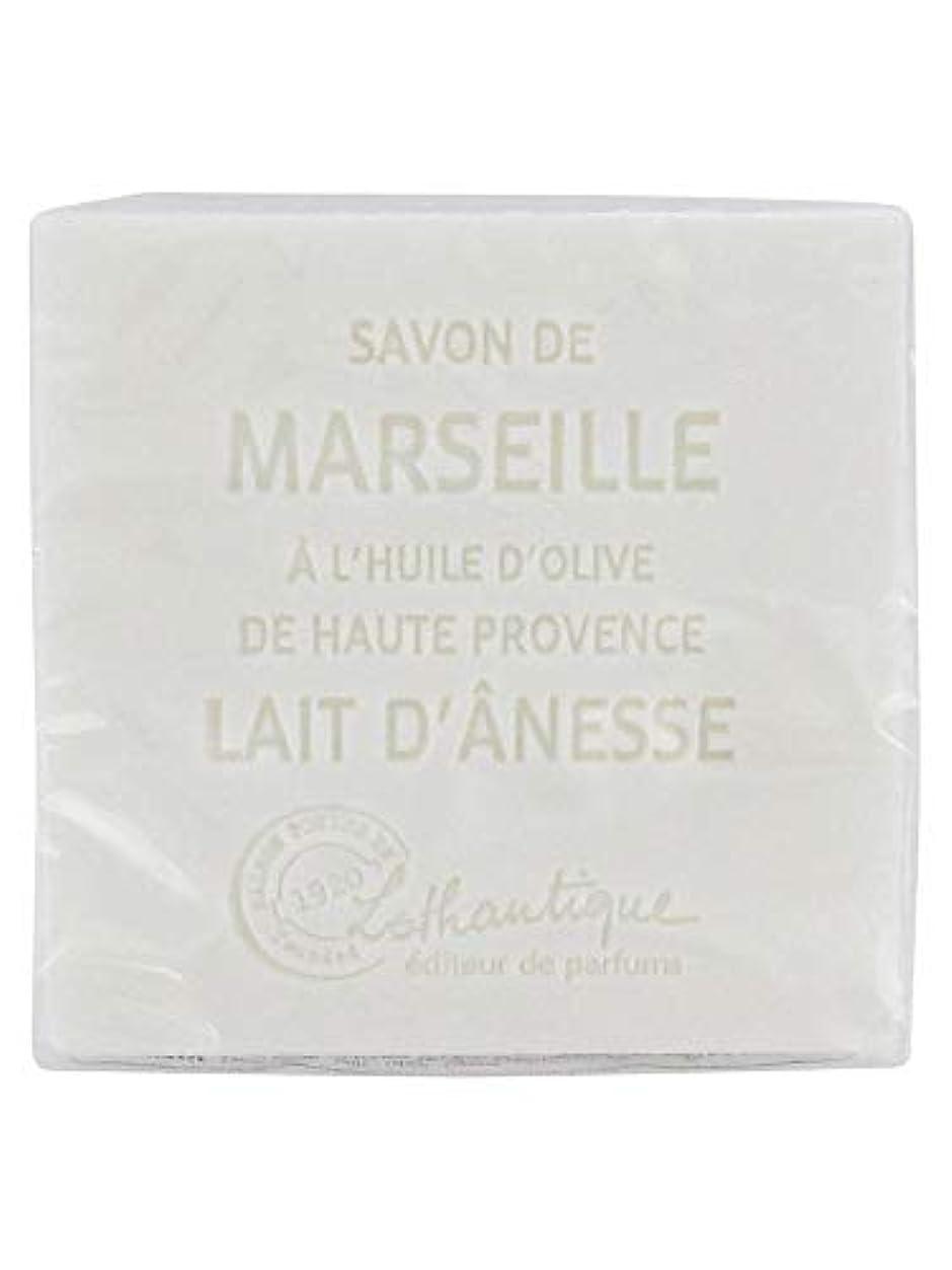 倒産説明する死んでいるLothantique(ロタンティック) Les savons de Marseille(マルセイユソープ) マルセイユソープ 100g 「ミルク(ロバミルク)」 3420070038043
