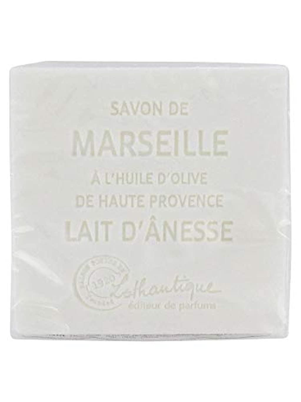 ハイキングに行く責め翻訳者Lothantique(ロタンティック) Les savons de Marseille(マルセイユソープ) マルセイユソープ 100g 「ミルク(ロバミルク)」 3420070038043