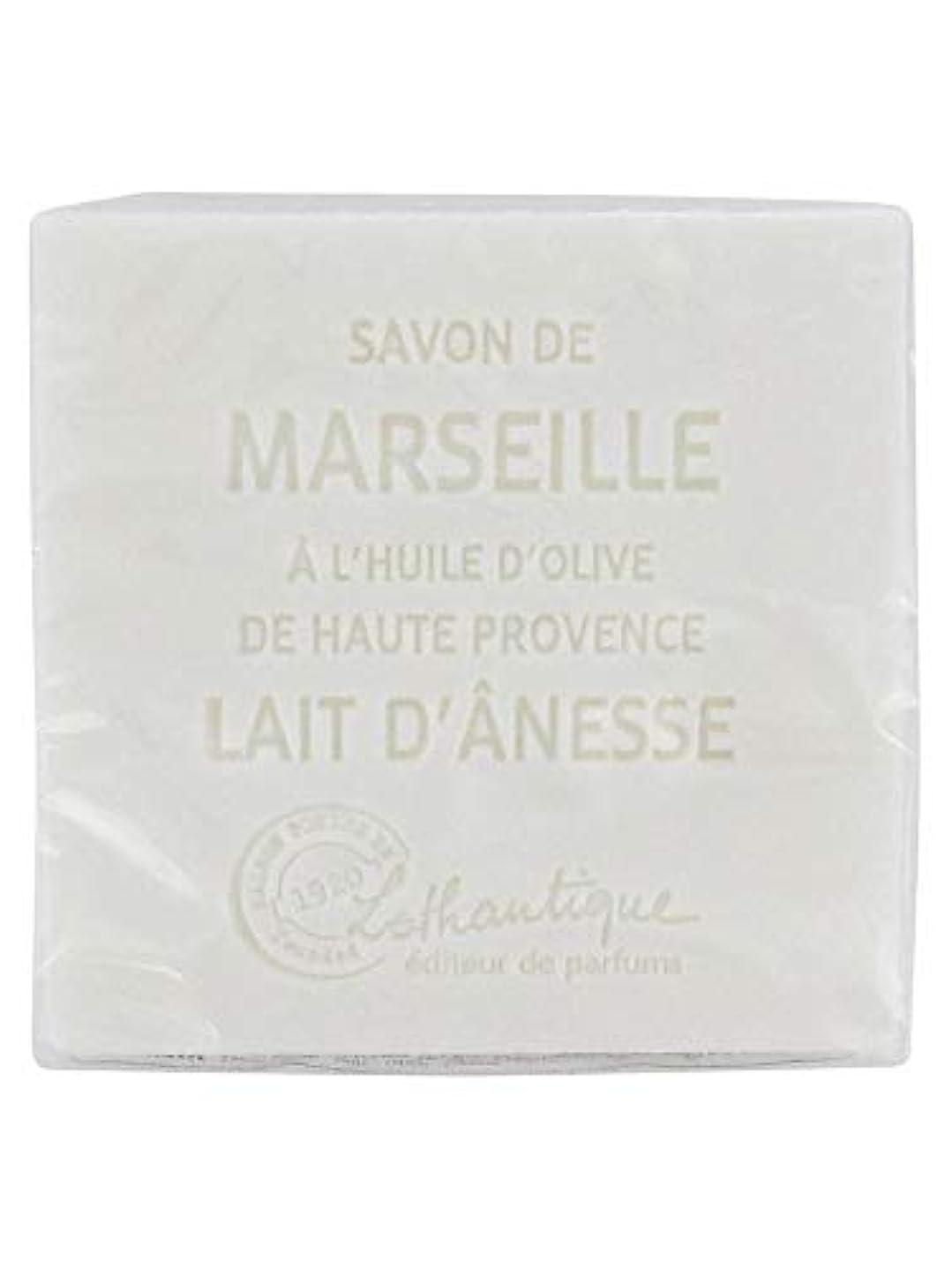 地獄実り多い折Lothantique(ロタンティック) Les savons de Marseille(マルセイユソープ) マルセイユソープ 100g 「ミルク(ロバミルク)」 3420070038043