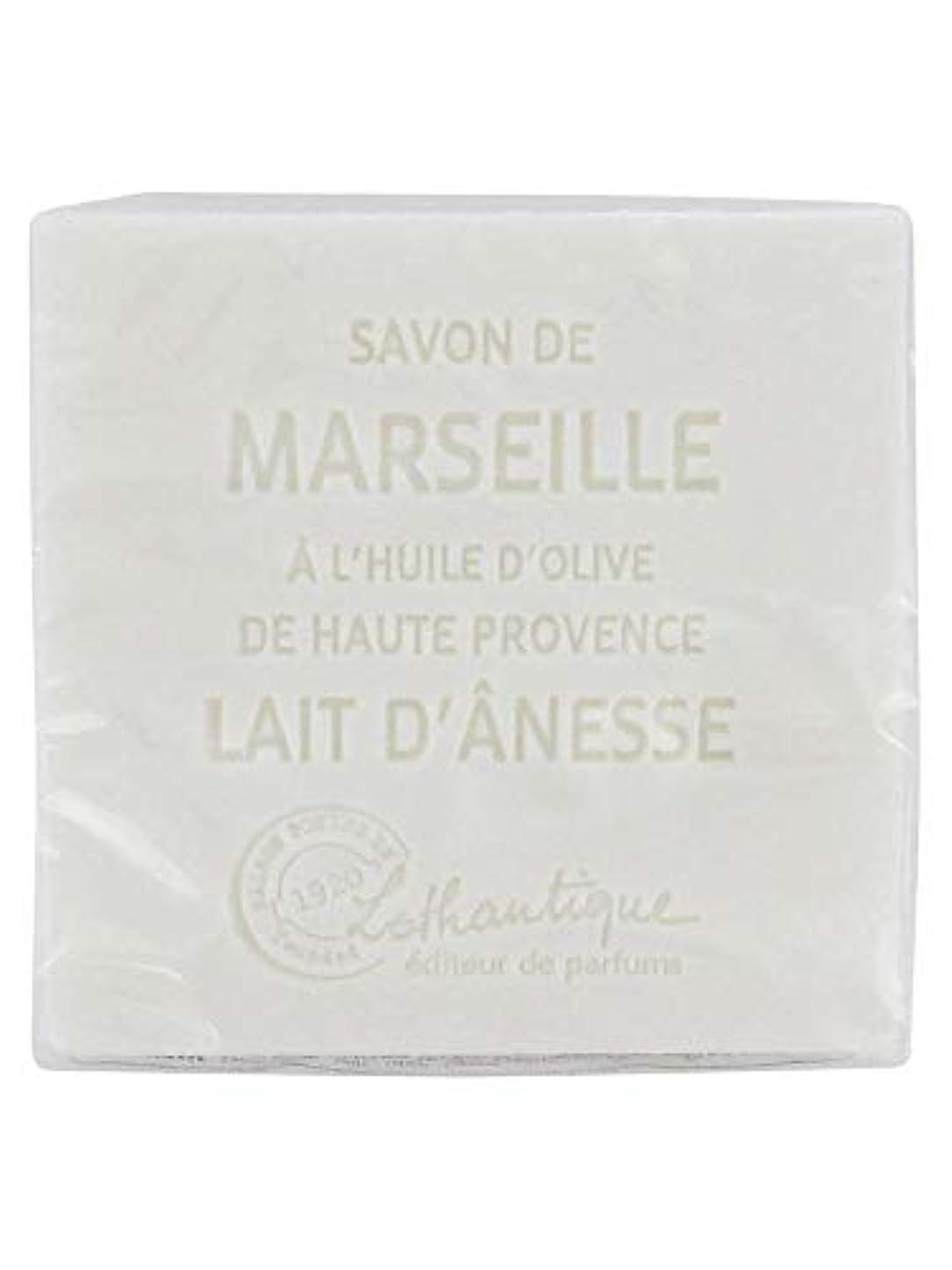 ジョブ生物学フラスコLothantique(ロタンティック) Les savons de Marseille(マルセイユソープ) マルセイユソープ 100g 「ミルク(ロバミルク)」 3420070038043