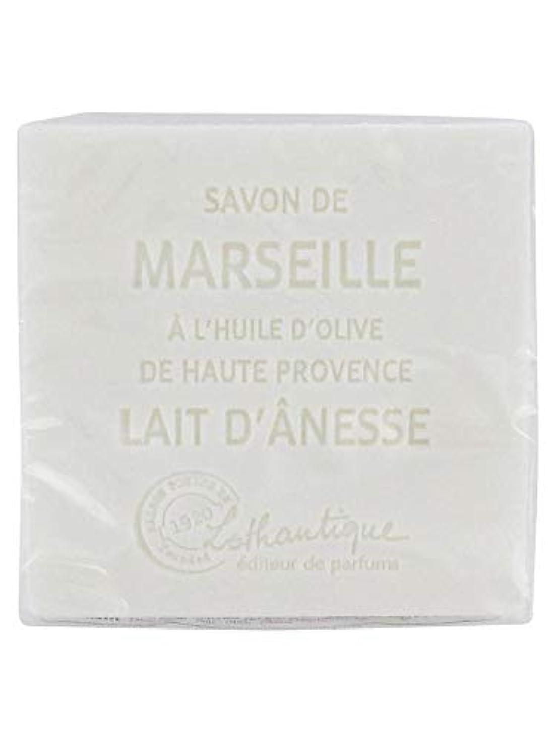 不安定スクリュー追放Lothantique(ロタンティック) Les savons de Marseille(マルセイユソープ) マルセイユソープ 100g 「ミルク(ロバミルク)」 3420070038043