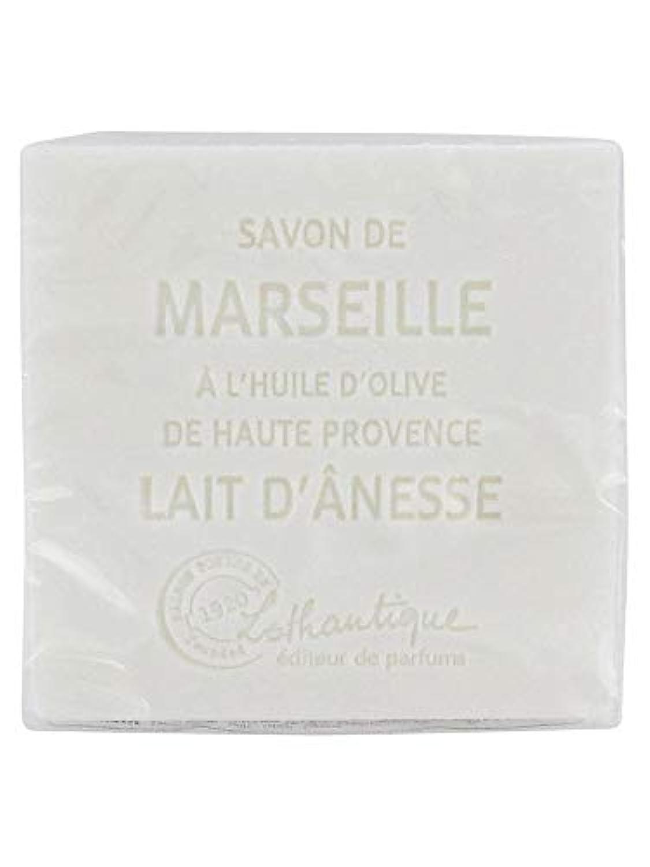 櫛人類バインドLothantique(ロタンティック) Les savons de Marseille(マルセイユソープ) マルセイユソープ 100g 「ミルク(ロバミルク)」 3420070038043