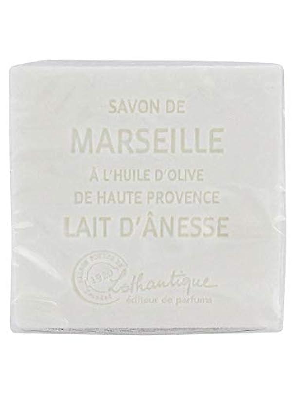 拍車カフェテリア締め切りLothantique(ロタンティック) Les savons de Marseille(マルセイユソープ) マルセイユソープ 100g 「ミルク(ロバミルク)」 3420070038043