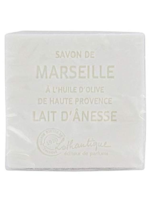 絡み合いペチコート基準Lothantique(ロタンティック) Les savons de Marseille(マルセイユソープ) マルセイユソープ 100g 「ミルク(ロバミルク)」 3420070038043