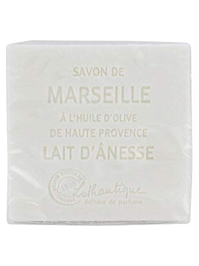 会話型洪水市場Lothantique(ロタンティック) Les savons de Marseille(マルセイユソープ) マルセイユソープ 100g 「ミルク(ロバミルク)」 3420070038043
