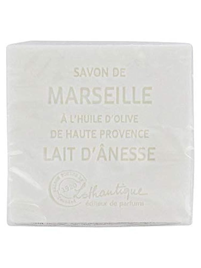 ウール滑り台エイリアンLothantique(ロタンティック) Les savons de Marseille(マルセイユソープ) マルセイユソープ 100g 「ミルク(ロバミルク)」 3420070038043