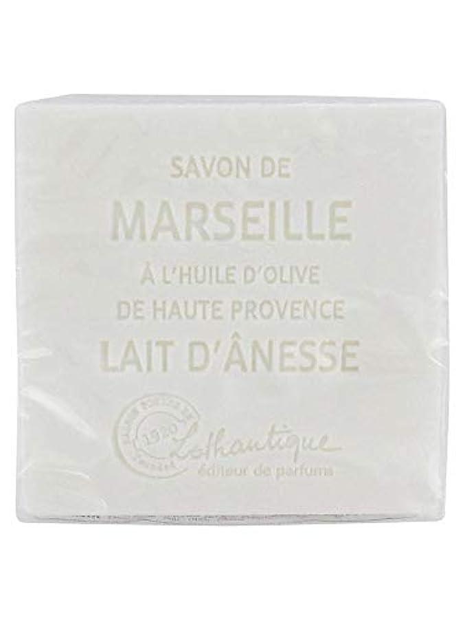 スチール調整する熱狂的なLothantique(ロタンティック) Les savons de Marseille(マルセイユソープ) マルセイユソープ 100g 「ミルク(ロバミルク)」 3420070038043