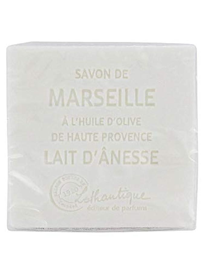 ショッピングセンター勝者暗殺者Lothantique(ロタンティック) Les savons de Marseille(マルセイユソープ) マルセイユソープ 100g 「ミルク(ロバミルク)」 3420070038043