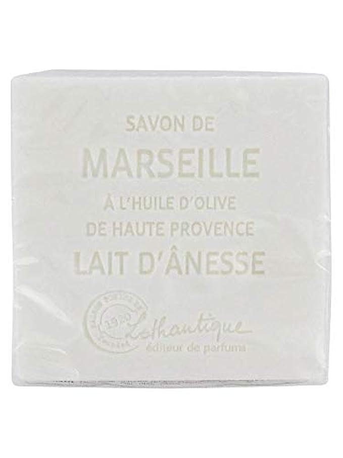 マッサージ囲む高潔なLothantique(ロタンティック) Les savons de Marseille(マルセイユソープ) マルセイユソープ 100g 「ミルク(ロバミルク)」 3420070038043