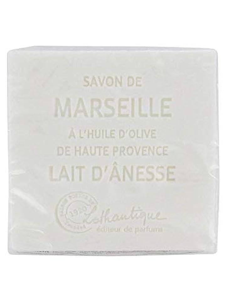 自治降伏夜明けLothantique(ロタンティック) Les savons de Marseille(マルセイユソープ) マルセイユソープ 100g 「ミルク(ロバミルク)」 3420070038043