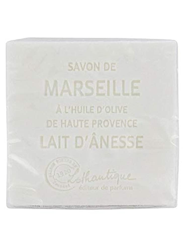 製油所スリーブ野球Lothantique(ロタンティック) Les savons de Marseille(マルセイユソープ) マルセイユソープ 100g 「ミルク(ロバミルク)」 3420070038043