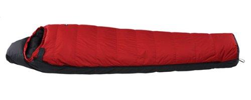 ナンガ(NANGA) オーロラ750DX レギュラーサイズ RED/BLK 日本製 [最低使用温度-16度] AURORA750DX R/B