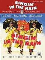 Alfred 00-26121 Singin in the Rain- Deluxe 50th Anniversary Edition - Music Book