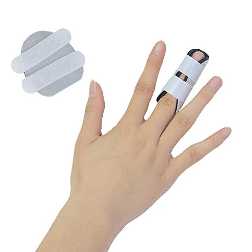 軸注釈遅れ指プロテクターサポート指手袋親指手首のけがの回復副木指セパレーター手の矯正器手根管関節痛の軽減矯正