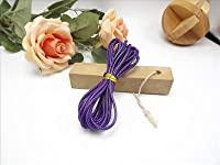 2 mmワックスロープ、DIY、ネックレス、素材、卸売#1357 GY304
