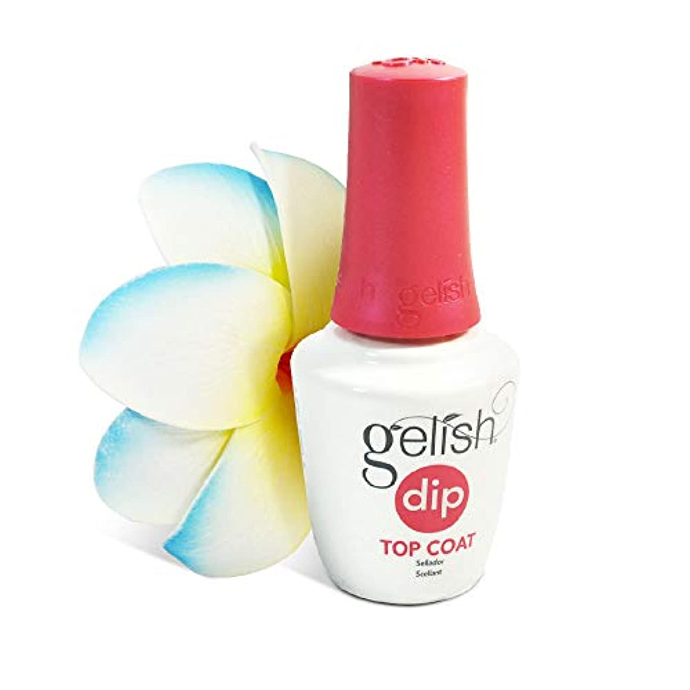 上級トーン接続Harmony Gelish - Dip Powder Treatments - Step 4: Top Coat - 0.5oz/15ml