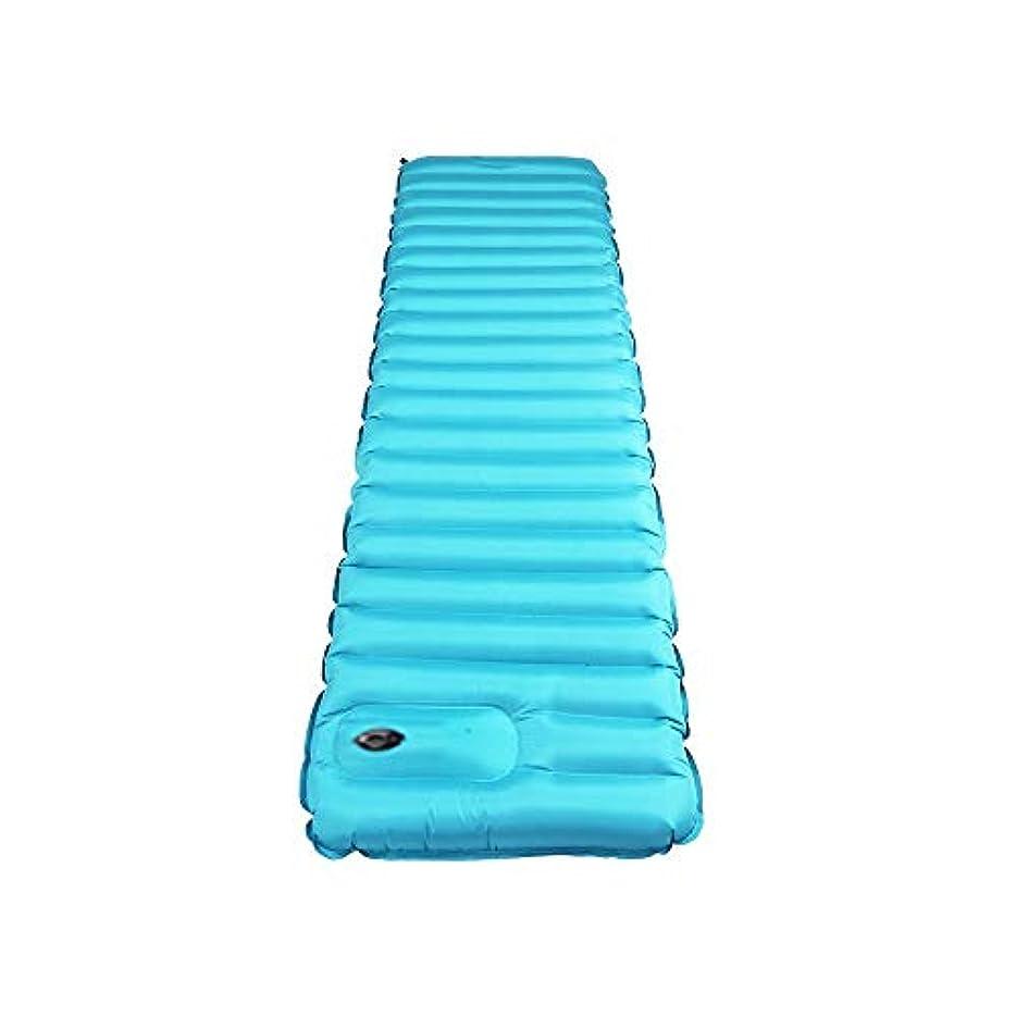 苦難ドレイン勝者屋外防湿バッグ超軽量インフレータブルクッション屋外テントスリーピングパッドキャンプマットシングル拡大肥厚マット、183×50×9センチ、195×70×9センチ (Size : 195X70X9cm)