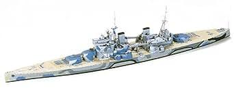 タミヤ 1/700 ウォーターラインシリーズ No.615 イギリス海軍 戦艦 プリンス・オブ・ウェールズ プラモデル 77522