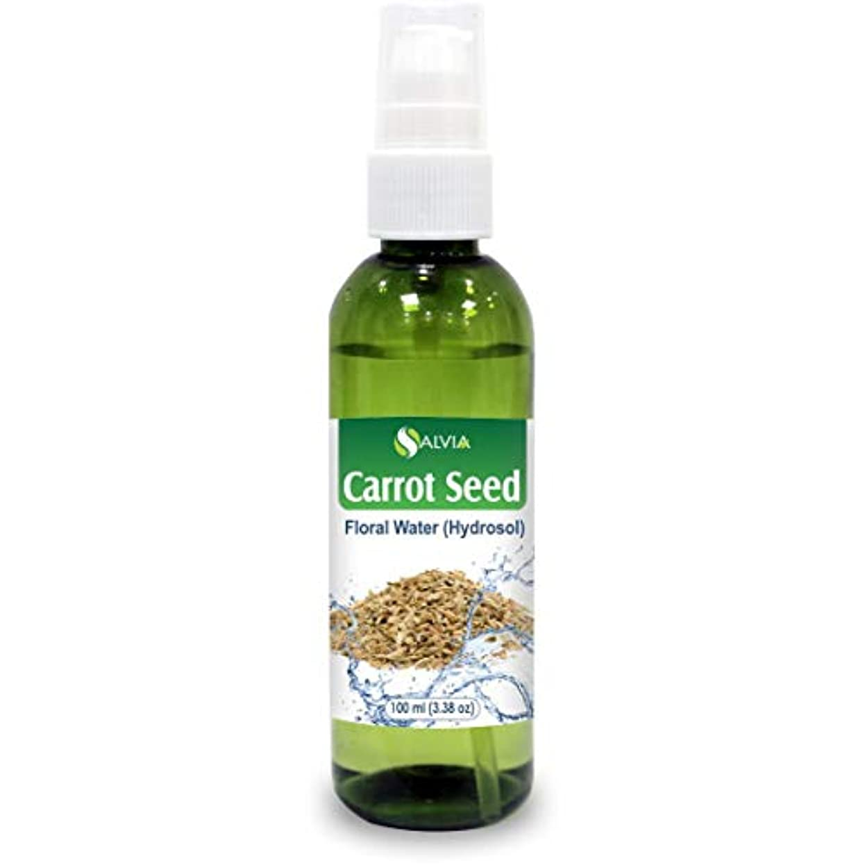 フック惑星背景Carrot Seed Floral Water Floral Water 100ml (Hydrosol) 100% Pure And Natural