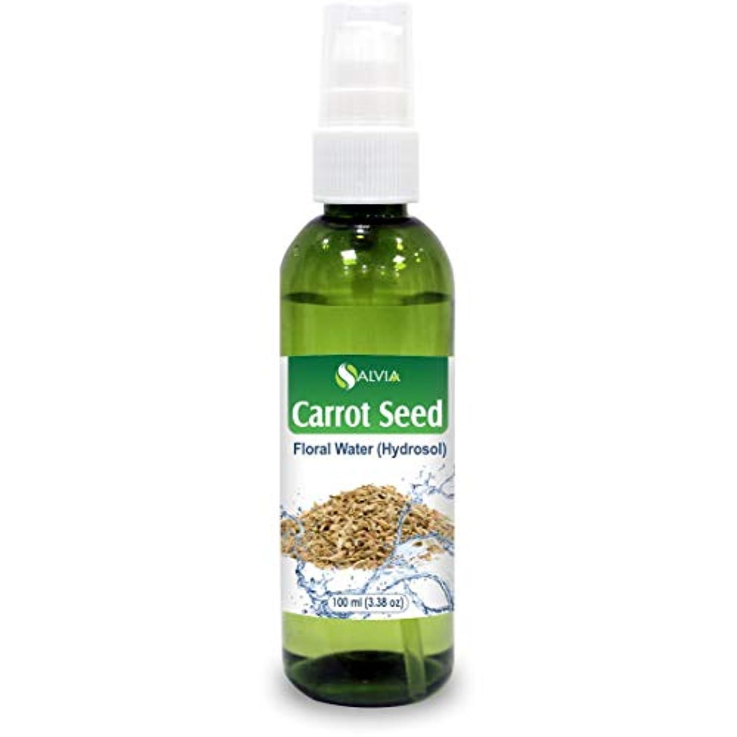 突然の潤滑する税金Carrot Seed Floral Water Floral Water 100ml (Hydrosol) 100% Pure And Natural