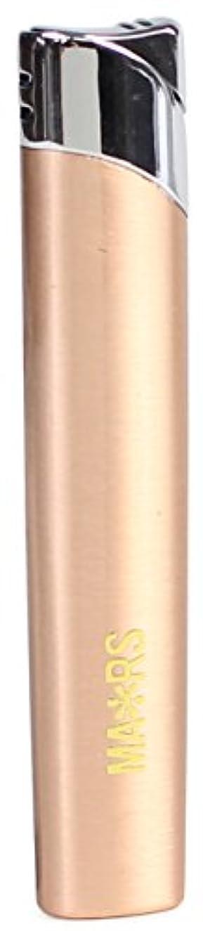 独立したトークン値下げMARS(マーズ) ガスライター スリム オーヴァル 注入式 レディース ピンクゴールド MARS-L010PG