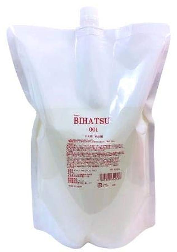 武装解除乗り出す寄稿者BIHATSU 001 HAIR WASH 2.000ml 詰替え