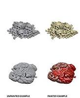 WizKids: Deep Cuts Unpainted Miniatures: Pile Bones & Entrails