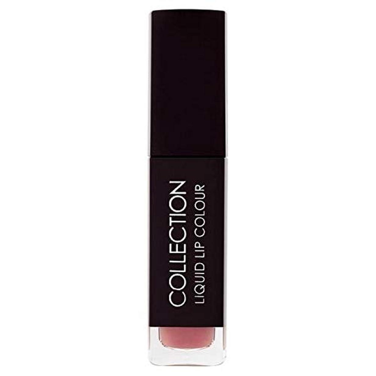 [Collection ] 収集液体リップカラー5ミリリットルヌードタフィー6 - Collection Liquid Lip Colour 5ml Nude Toffee 6 [並行輸入品]