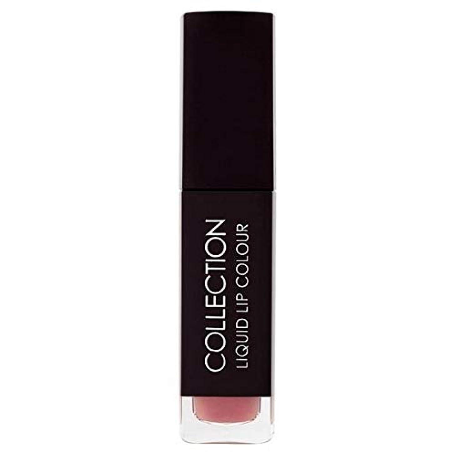 誰も簡単にビジネス[Collection ] 収集液体リップカラー5ミリリットルヌードタフィー6 - Collection Liquid Lip Colour 5ml Nude Toffee 6 [並行輸入品]
