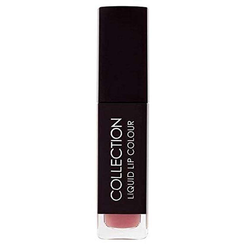 可能メールを書く推測[Collection ] 収集液体リップカラー5ミリリットルヌードタフィー6 - Collection Liquid Lip Colour 5ml Nude Toffee 6 [並行輸入品]