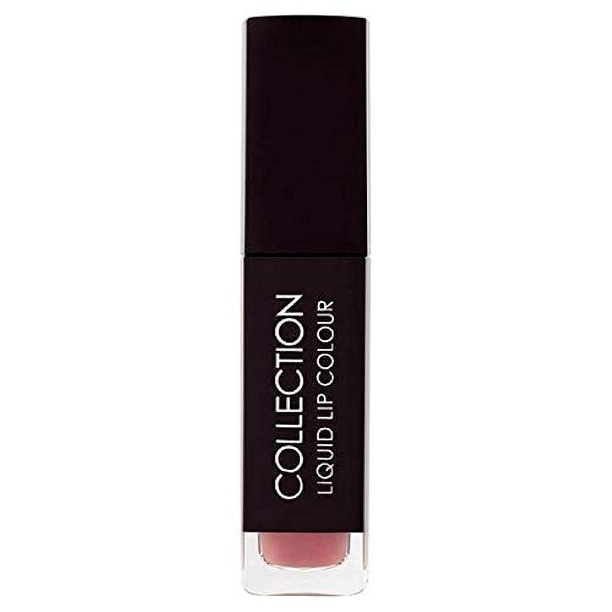 訪問受け取る乱雑な[Collection ] 収集液体リップカラー5ミリリットルヌードタフィー6 - Collection Liquid Lip Colour 5ml Nude Toffee 6 [並行輸入品]