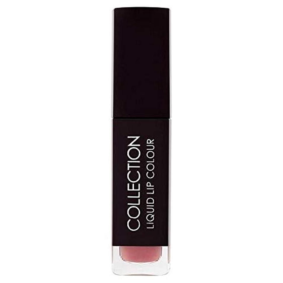 慰め場合文法[Collection ] 収集液体リップカラー5ミリリットルヌードタフィー6 - Collection Liquid Lip Colour 5ml Nude Toffee 6 [並行輸入品]
