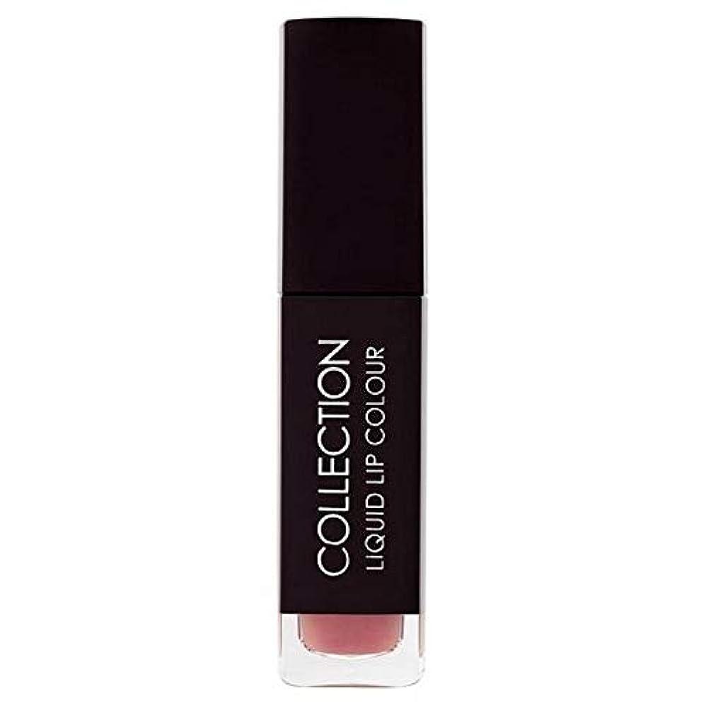 一節不快署名[Collection ] 収集液体リップカラー5ミリリットルヌードタフィー6 - Collection Liquid Lip Colour 5ml Nude Toffee 6 [並行輸入品]