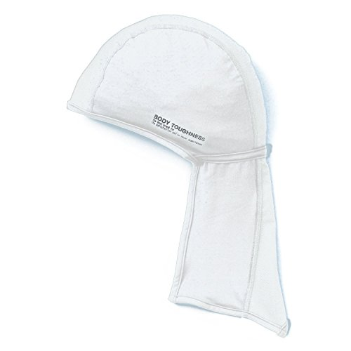 おたふく手袋 ボディータフネス 冷感・消臭 パワーストレッチ カバー付ヘッドキャップ JW-613 ホワイト